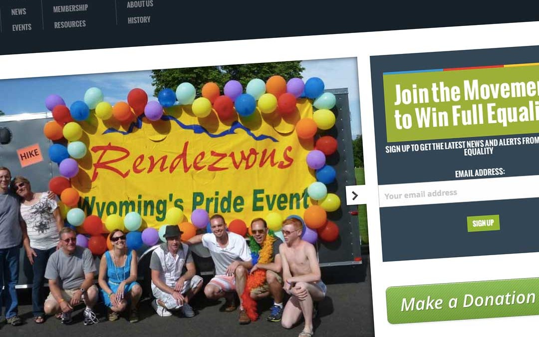 Wyoming Equality Website