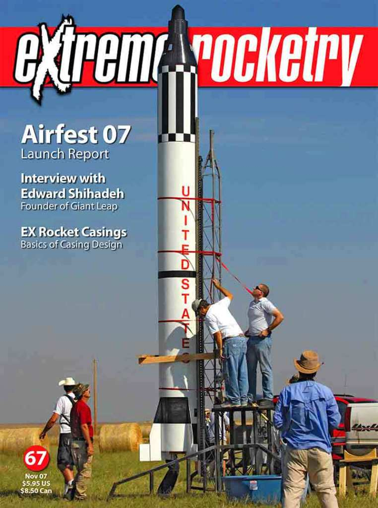 Seven Grey Media designed and published 84 issues of Extreme Rocketry magazine from 2000 to 2009.