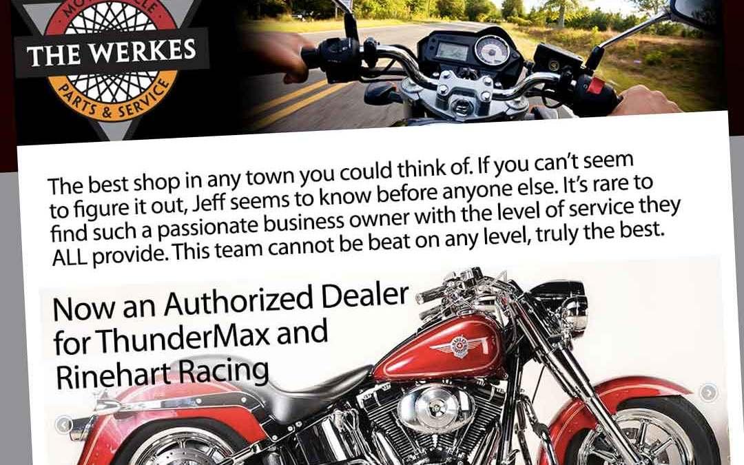 Werkes Motorcycle Website