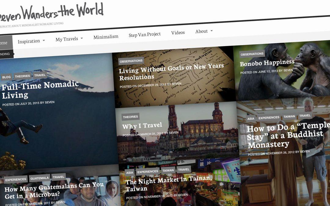 Seven Wanders Website